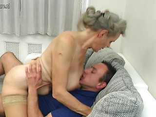 Sex hot old mom